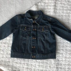 2T dark denim jacket